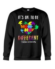 Heart different Crewneck Sweatshirt thumbnail