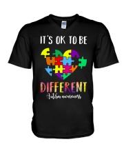 Heart different V-Neck T-Shirt thumbnail