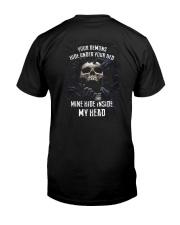 INSIDE MY HEAD Classic T-Shirt back
