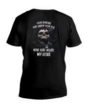 INSIDE MY HEAD V-Neck T-Shirt thumbnail
