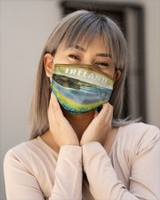 Irish Blood 1 Cloth Face Mask - 3 Pack aos-face-mask-lifestyle-17