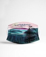 Great smoky Mountains 1934 Cloth Face Mask - 3 Pack aos-face-mask-lifestyle-22