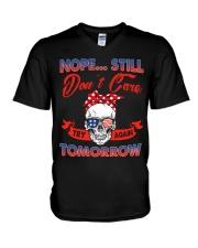 STILL DON'T CARE V-Neck T-Shirt thumbnail
