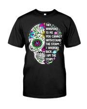 STORM SKULL T-SHIRT Classic T-Shirt thumbnail