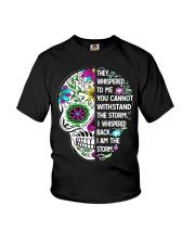 STORM SKULL T-SHIRT Youth T-Shirt thumbnail