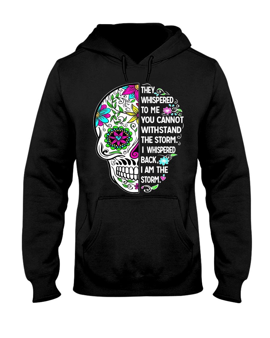 STORM SKULL T-SHIRT Hooded Sweatshirt