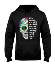 STORM SKULL T-SHIRT Hooded Sweatshirt front