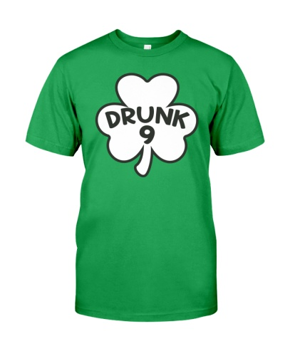 DRUNK 9 T-SHIRT