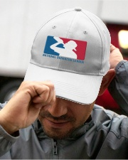 National Borrecho League Embroidered Hat garment-embroidery-hat-lifestyle-01