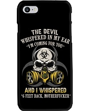 DEVIL WHISPERED Phone Case thumbnail