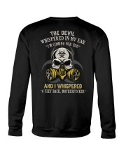 DEVIL WHISPERED Crewneck Sweatshirt tile