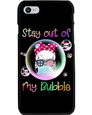 STAY OUT OF MY BUBBLE Phone Case thumbnail