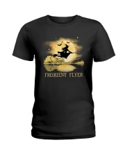 FREQUENT FLYER Ladies T-Shirt thumbnail
