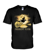 FREQUENT FLYER V-Neck T-Shirt thumbnail