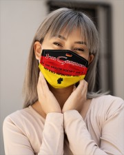 I'm German My Eyes Definitely Say It  Cloth Face Mask - 3 Pack aos-face-mask-lifestyle-17
