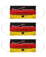I'm German My Eyes Definitely Say It  Cloth Face Mask - 3 Pack front
