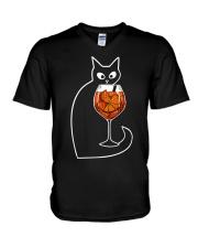 SPRITZ VENEZIANO COCKTAIL CAT V-Neck T-Shirt thumbnail
