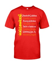 GHOSTS AND GOBLINS Classic T-Shirt front