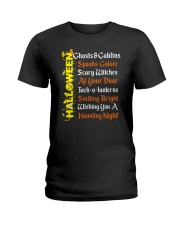 GHOSTS AND GOBLINS Ladies T-Shirt thumbnail