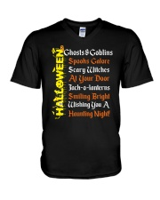 GHOSTS AND GOBLINS V-Neck T-Shirt thumbnail