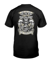RAGE THE RAIN BIKER T-SHIRT  Classic T-Shirt back