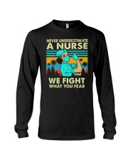 WE FIGHT Long Sleeve Tee thumbnail