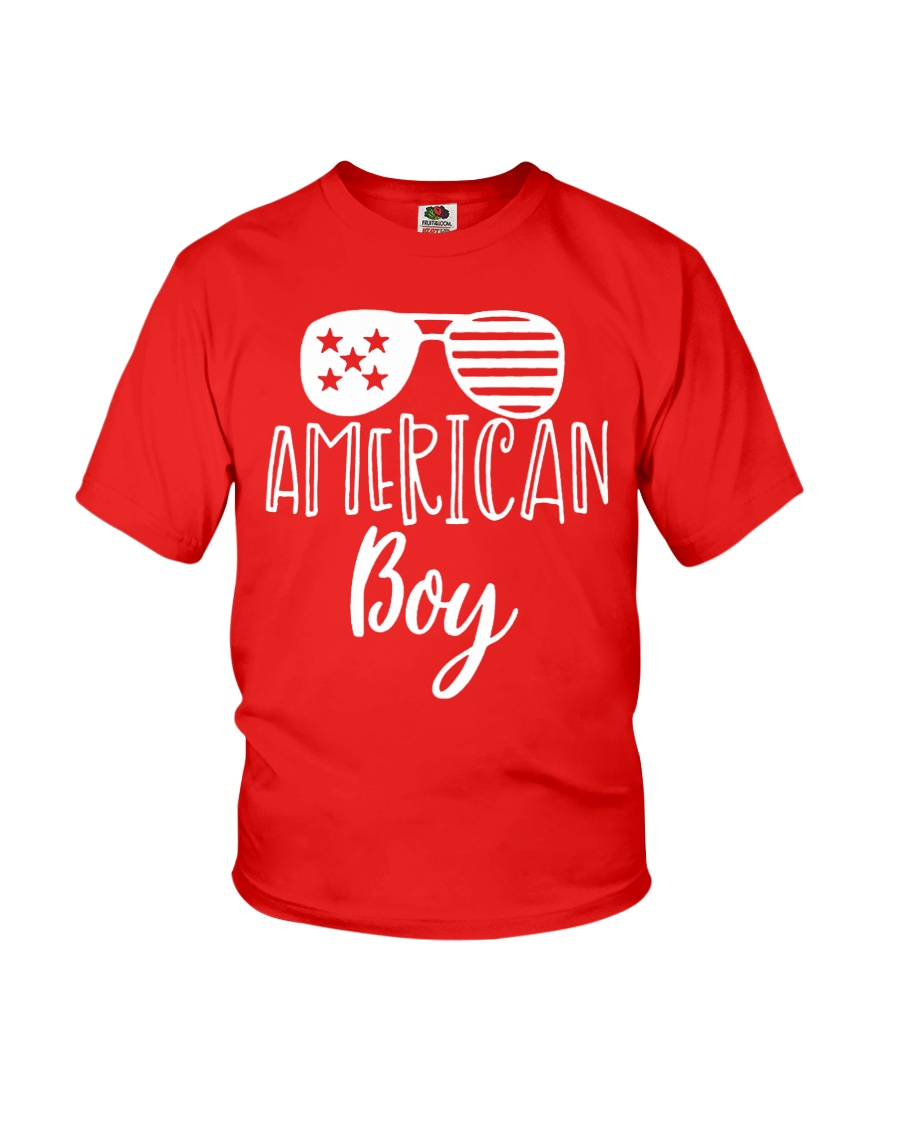 'MERICAN BOY - INDEPENDENCE DAY Youth T-Shirt