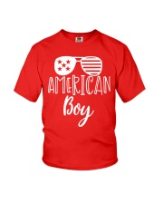 'MERICAN BOY - INDEPENDENCE DAY Youth T-Shirt front