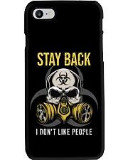 STAY BACK T-SHIRT  Phone Case thumbnail