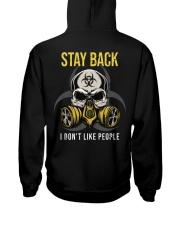 STAY BACK T-SHIRT  Hooded Sweatshirt thumbnail