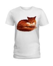 FOX LOVERS Ladies T-Shirt thumbnail