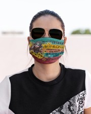SHE WAS LIFE ITSELF Cloth face mask aos-face-mask-lifestyle-02