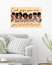GOD SAYS YOU ARE 24x16 Poster poster-landscape-24x16-lifestyle-01