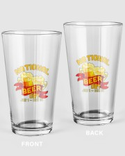 NATIONAL BEER DAY 16oz Pint Glass front