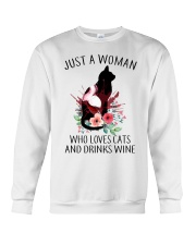 JUST A WOMAN  Crewneck Sweatshirt thumbnail