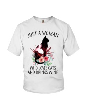 JUST A WOMAN  Youth T-Shirt thumbnail