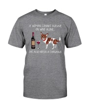 She Also Needs A Chihuahua Classic T-Shirt thumbnail