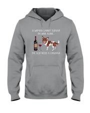 She Also Needs A Chihuahua Hooded Sweatshirt thumbnail