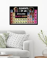 ELEMENTS OF AN EDUCATED BLACK QUEEN 24x16 Poster poster-landscape-24x16-lifestyle-01