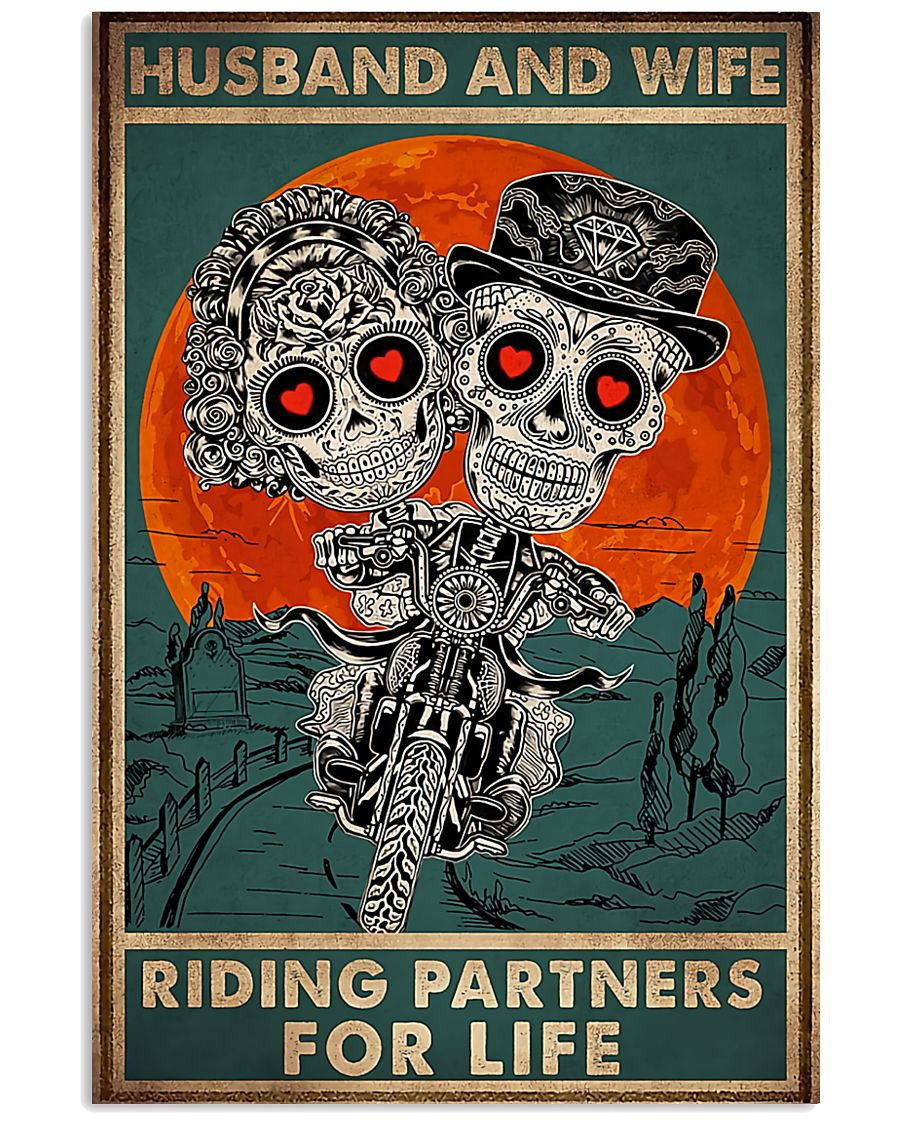 RIDING PARTNERS  16x24 Poster