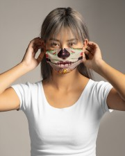 Day of the dead 1 Cloth face mask aos-face-mask-lifestyle-16