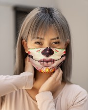 Day of the dead 1 Cloth face mask aos-face-mask-lifestyle-18
