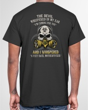 SIX FEET BACK  Classic T-Shirt garment-tshirt-unisex-back-04