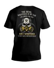 SIX FEET BACK  V-Neck T-Shirt tile