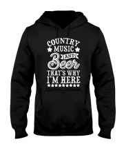 COUNTRY MUSIC AND BEER Hooded Sweatshirt thumbnail