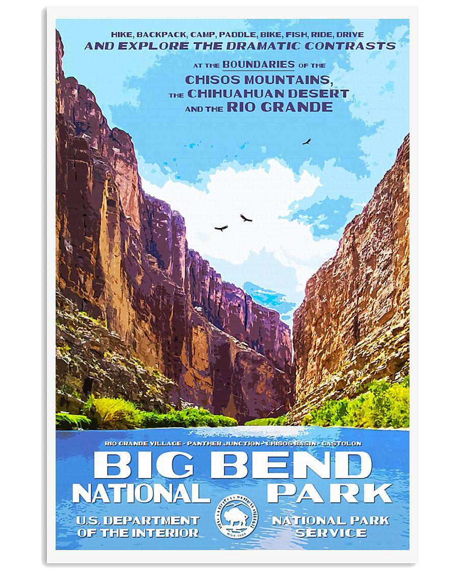 BIG BEND 11x17 Poster