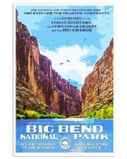 BIG BEND 11x17 Poster front