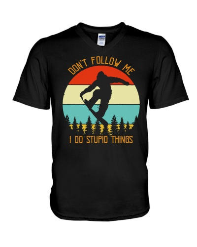 BIGFOOT DONT FOLLOW ME T-SHIRT