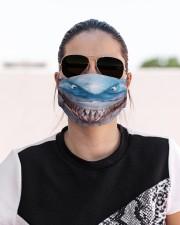 Shark Lovers 3 Cloth face mask aos-face-mask-lifestyle-02