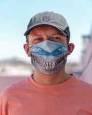 Shark Lovers 3 Cloth face mask aos-face-mask-lifestyle-06